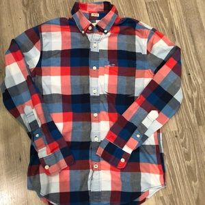 HOLLISTER Button Down Shirt Mens XS